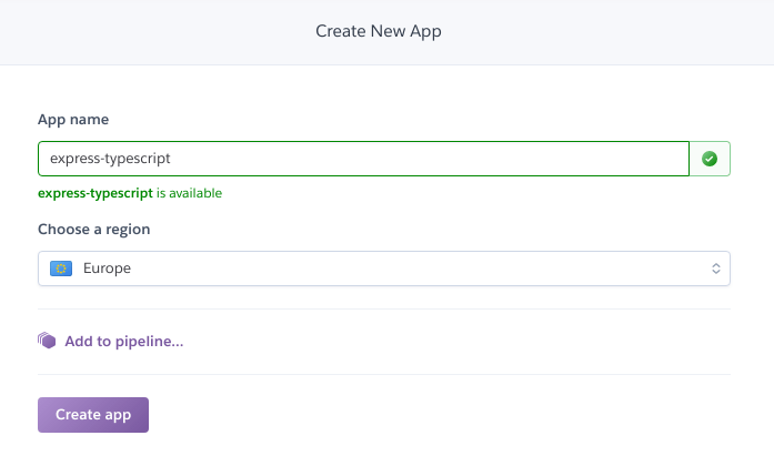 CI/CD pipeline with Heroku
