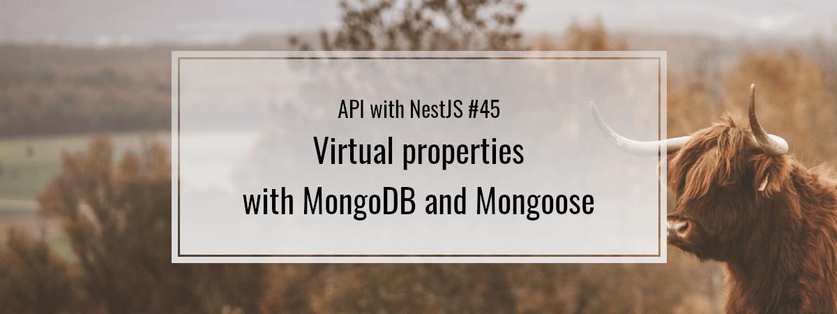 API with NestJS #45. Virtual properties with MongoDB and Mongoose